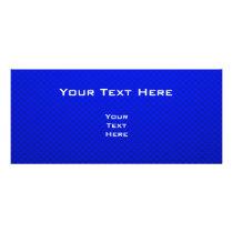 Cute Horse; Blue Rack Card