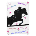 Cute Horse Doodles iPad Mini Case