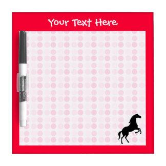 Cute Horse Dry Erase Board