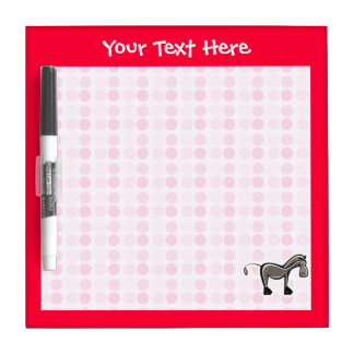 Cute Horse Dry Erase Whiteboards