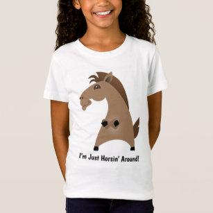 d14eeaa2 Just Horsing Around T-Shirts - T-Shirt Design & Printing | Zazzle