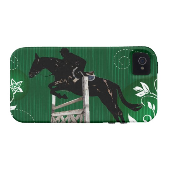 Cute Horse Jumper iPhone 4 Case