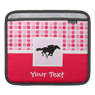 Cute Horse Racing Sleeve For iPads