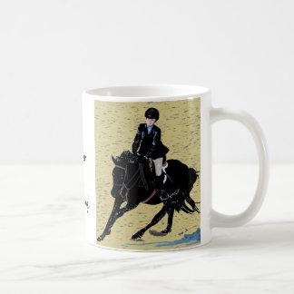 Cute Horse Show Equestrian Coffee Mug