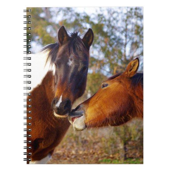 Cute Horse Spiral Notebooks