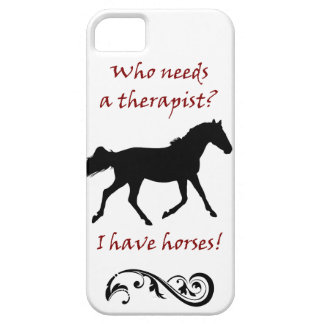 Cute Horse Therapist iPhone 5 Case-Mate Case iPhone 5 Cover