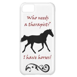 Cute Horse Therapist iPhone 5 Case-Mate Case iPhone 5C Covers