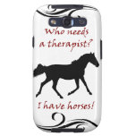 Cute Horse Therapist Samsung Galaxy Case-Mate Case Samsung Galaxy S3 Cases