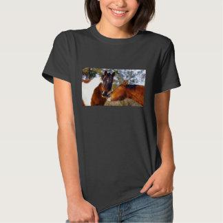 Cute Horse Women's Basic T-Shirt