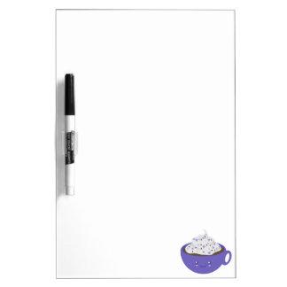 Cute Hot chocolate Dry Erase Board