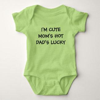 Cute Hot Lucky Family Baby Bodysuit