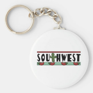 Cute Hot Red Chili Peppers - American Southwest Key Chains