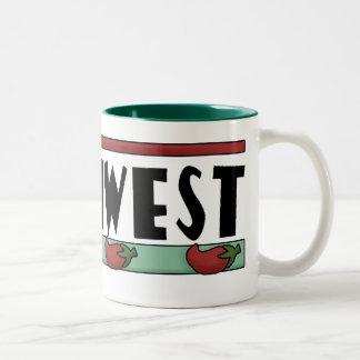 Cute Hot Red Chili Peppers - American Southwest Mug