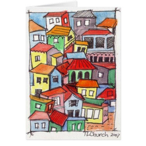 Cute House Design Card Zazzle