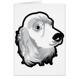 Cute Huge Dog Head by Kong Card
