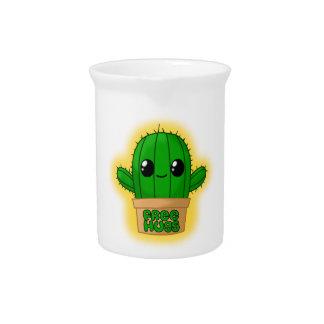 Cute Huggable Cactus Beverage Pitcher