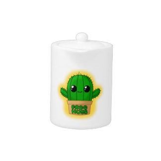 Cute Huggable Cactus Teapot