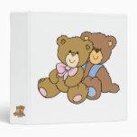 Cute Hugging Friends Bears Binders