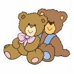 Cute Hugging Friends Bears Photo Cut Outs