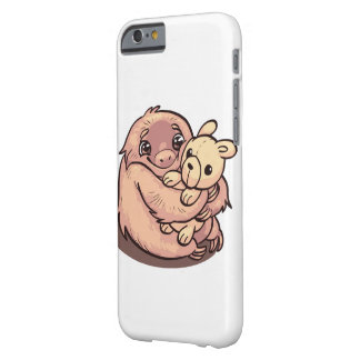 cute hugging sloth barely there iPhone 6 case