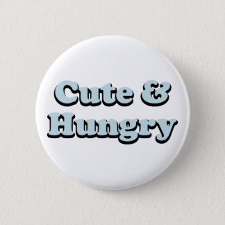 Cute & Hungry Button