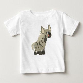 Cute Hungry Cartoon Striped Hyena Baby T-Shirt