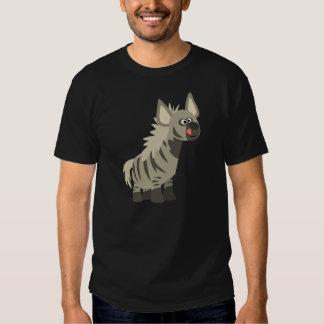 Cute Hungry Cartoon Striped Hyena T-Shirt