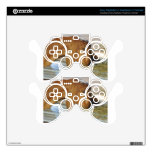 Cute hungry goat PS3 controller skins