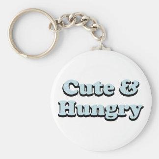 Cute & Hungry Keychain