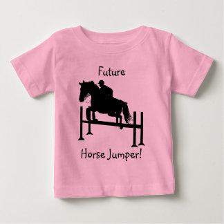 Cute Hunter Jumper Horse Baby T-Shirt