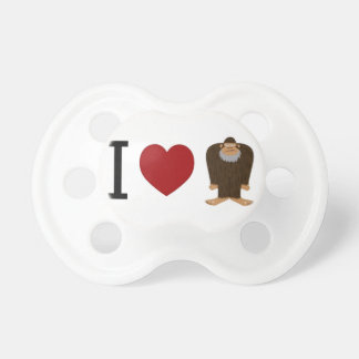 CUTE! I LOVE <3 BIGFOOT design - Finding Bigfoot Pacifier