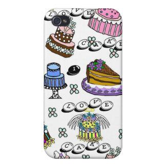Cute I love Cake Iphone Case