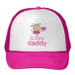 Cute I Love Daddy T-shirt Trucker Hat