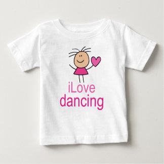 Cute I Love Dancing T-shirt Gift