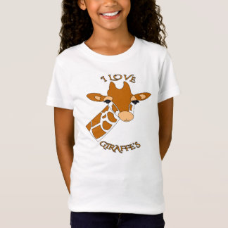 Cute I Love Giraffes T-Shirt