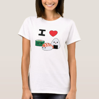 Cute I Love Sushi T-Shirt