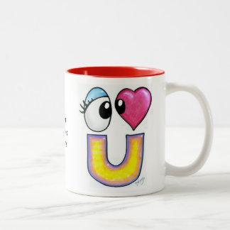 Cute I Love You Mug