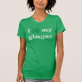 Cute I Shamrock My Ginger Irish T-Shirt