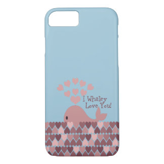 Cute I whaley Love You! design iPhone 8/7 Case
