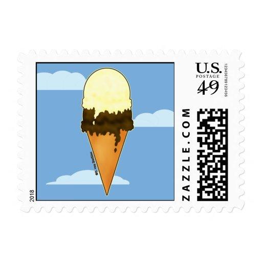 Cute Ice Cream Stamps