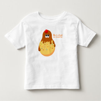 Cute Ice Cream Sundae Toddler T-shirt