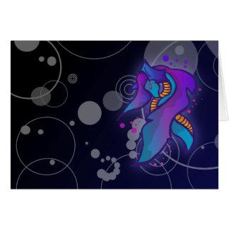 Cute Ice Dragon   Greeting Card