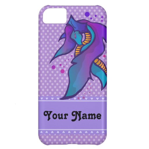 Cute Ice Dragon - Personalize iPhone 5 iPhone 5C Covers