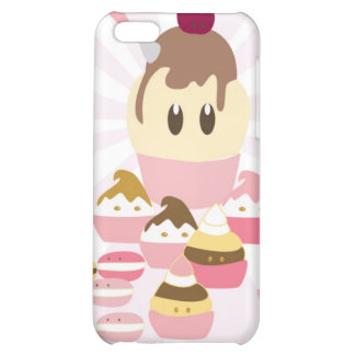 Cute icecream and cup cakes iPhone 5C cover