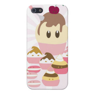 Cute icecream and cup cakes iPhone 5 case