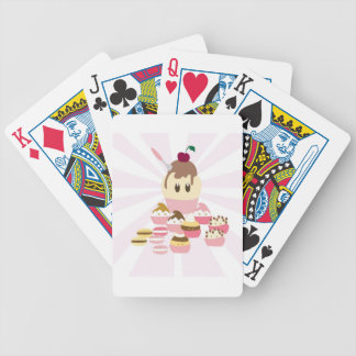 Cute icecream and cup cakes card deck