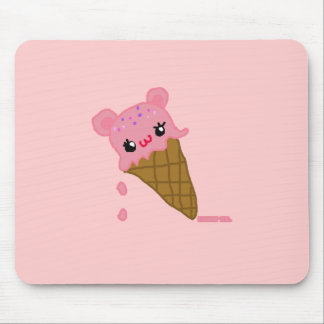 cute icecream mouse pad
