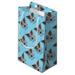 Cute iCuddle Jack Russel Dog Small Gift Bag