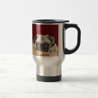 Cute iCuddle Pug Puppy Coffee Mug