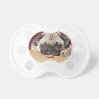 Cute iCuddle Pug Puppy Pacifier